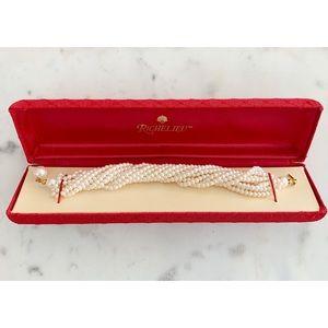 Vintage Richelieu Pearl Bracelet ✨
